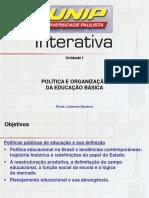 Política e Organização Da Educação Básica I