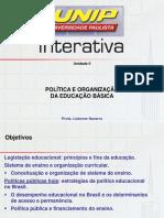 Política e Organização Da Educação Básica II