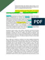 Declaracion Investigadores -Convivencia y -Violencia -Escolar Final