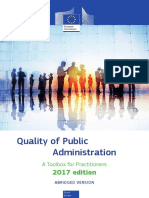 Quality of Public Administration Toolbox European Comission
