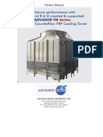 O & M Manual of  Cooling Tower-TM