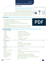 Omicron Humidity & Temperature Sensor