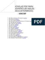 20 Novelas PDF Para Estudiantes de Inglés 2
