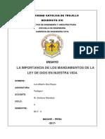 Ensayo Teología 1 Luis Alberto Alva Reyes - Ing Civil