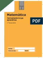 Cuadernillo Proceso2 Matematica 2do Grado-converted