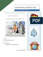 Informe de Salida de Campo - Pi