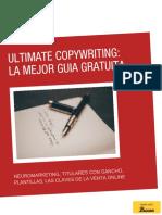 La Mejor Guía de Copywriting Gratuita en Español