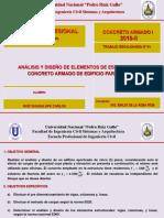 Trabajo Escalonado Concreto Armado I- 2018-II
