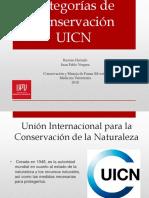 Categorias de Conservacion UICN