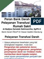 Peran Bank Darah Dalam Pelayanan Transfusi Darah Di