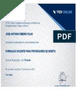 certificado Fgv
