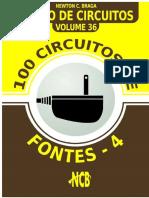 100 Circuitos de Fontes 4 - Banco de Circuitos - Vol 4