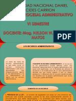 Derecho Procesal Administrativo....