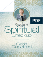 Time for a Spiritual Checkup by Gloria Copeland