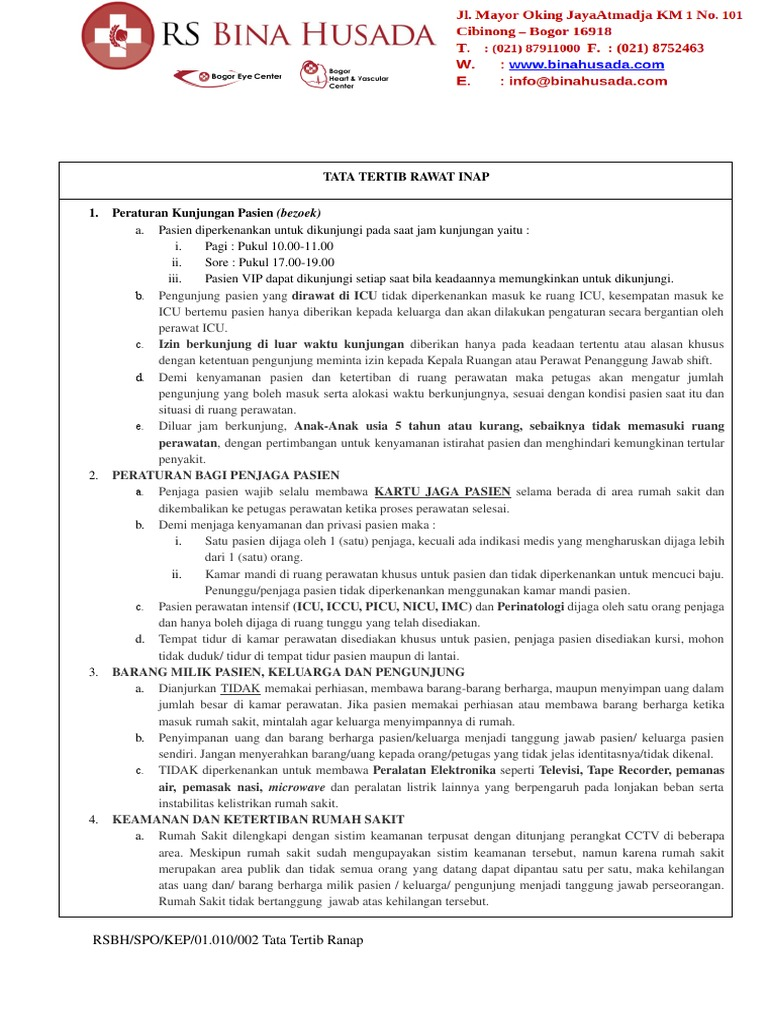 26+ Daftar online rs bina husada cibinong ideas