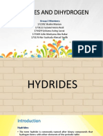 Hydrides and Dihydrogen