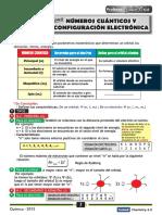 Numeros Cuanticos y c.e.-2013