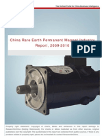 China Rare Earth Permanent Magnet Industry Report 2009-2010 - Research in China