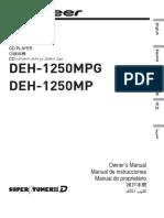 operating manual (deh-1250mp) (deh-1250mpg)- eng - esp - por (1).pdf