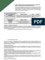 Modelo de Acta de Sub Equipo Revisor Carabaya