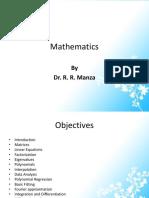 6) Mathematics