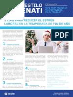 Boletín AES 38 Dic - Tips Para Reducir El Estrés Laboral en Fin de Año