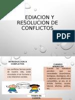 Mediacion y Resolucion de Conflictos