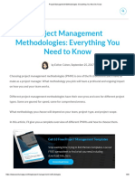 Project Management Methodologies_ Everything You Need to Know