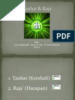 Taubat & Raja' (03)