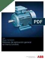 ABB - Motores Para Baja Tensión de Aplicación Generalen Hierro Fundido