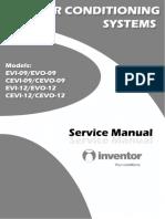 Inventor EVI EVO Service Manual 09 12000btu
