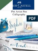 Faber Castel Pitt Pen Calligraphy