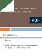 Mobile Radio Environment