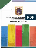 AHSP Provinsi DKI Jakarta 2018