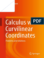 Markus Antoni - Calculus With Curvilinear Coordinates Problems and Solutions (2019, Springer)