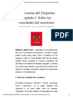 1- La Doctrina del Despertar. Capítulo I _julius evola