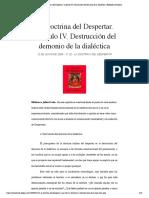 4- La Doctrina del Despertar. Capítulo IV..pdf
