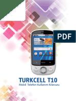 Turkcell T10 Kullanma Kulavuzu