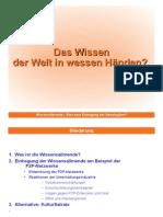 Vortrag Wissensallmende München 2