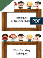 3. Teaching Techniques
