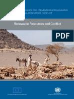 Relatório ONU Resolução de Conflitos