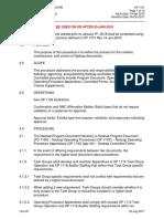 OP 1101 Document Control