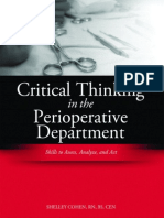 Critical Thinking in the Operating Room