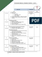 Jadual Program Transisi Terkini MSB