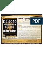 C# 2010 Programming Black Book