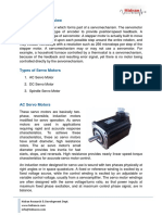 Servo Motors Overview