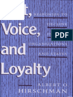 Albert O. Hirschman - Exit, Voice, and Loyalty_ Responses to Decline in Firms, Organizations, and States  -Harvard University Press (1970).pdf