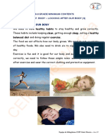 Natural Science Primary Level 3 Glossary MADRID 1