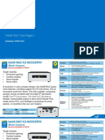One Pagers Nuc Specs Guide