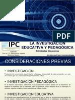 Investigacion Pedagogica.
